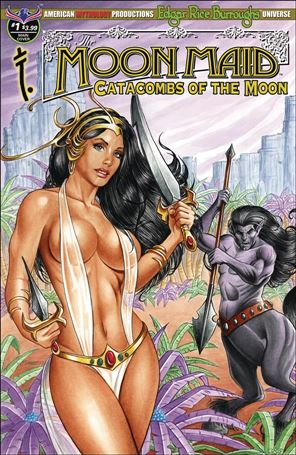 Edgar Rice Burroughs' Moon Maid: Catacombs of the Moon 1-A