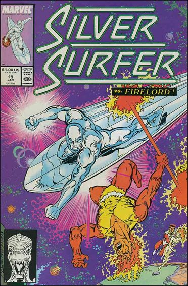 Silver Surfer (1987) 19-A by Marvel