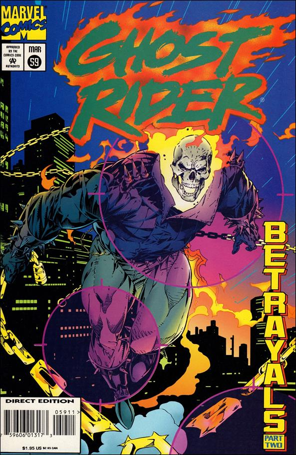 Ghost Rider (1990) 59-A by Marvel