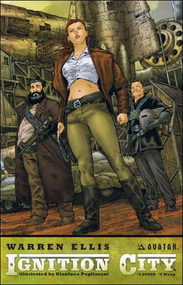 Warren Ellis' Ignition City 5-B by Avatar Press