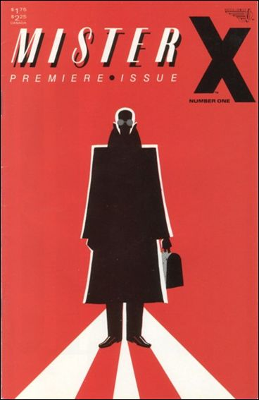 Mister X (1984) 1-A by Vortex Comics