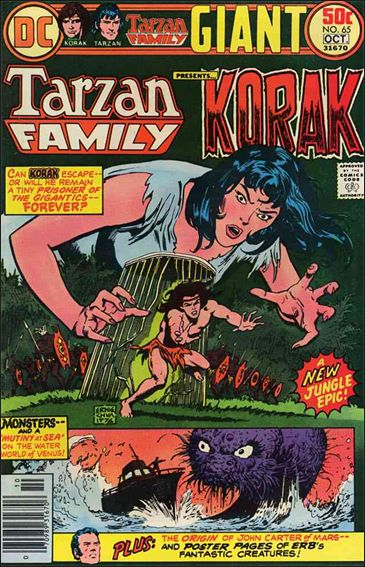 Tarzan Family 65-A by DC