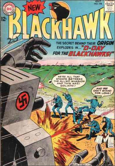 Blackhawk (1944) 198-A by DC