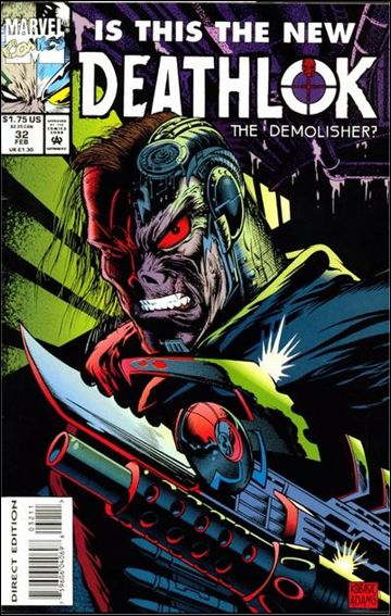 Deathlok (1991) 32-A by Marvel