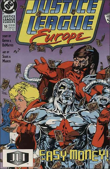 Justice League Europe 10-A by DC