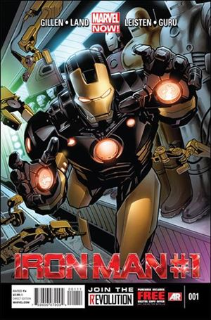 Iron Man (2013) 1-A
