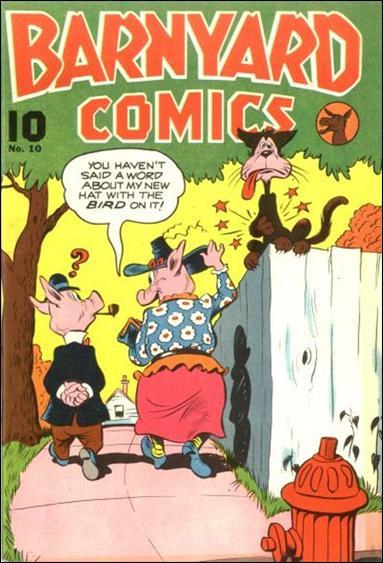 Barnyard Comics 10-A by Standard