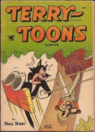 Terry-Toons Comics (1952) 8-A