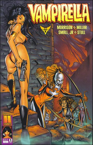 Vampirella Monthly 4-A by Harris