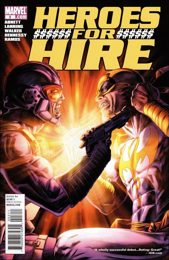 Heroes for Hire (2011) 3-A by Marvel