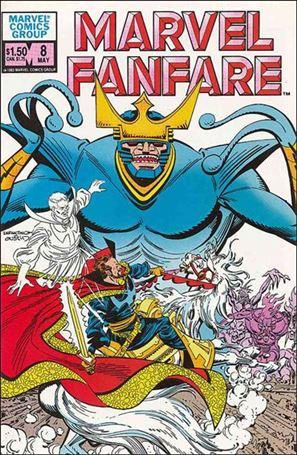 Marvel Fanfare (1982) 8-A
