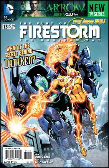 Fury of Firestorm: The Nuclear Man 13-A by DC
