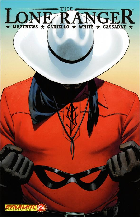 Lone Ranger (2006) 2-A by Dynamite Entertainment