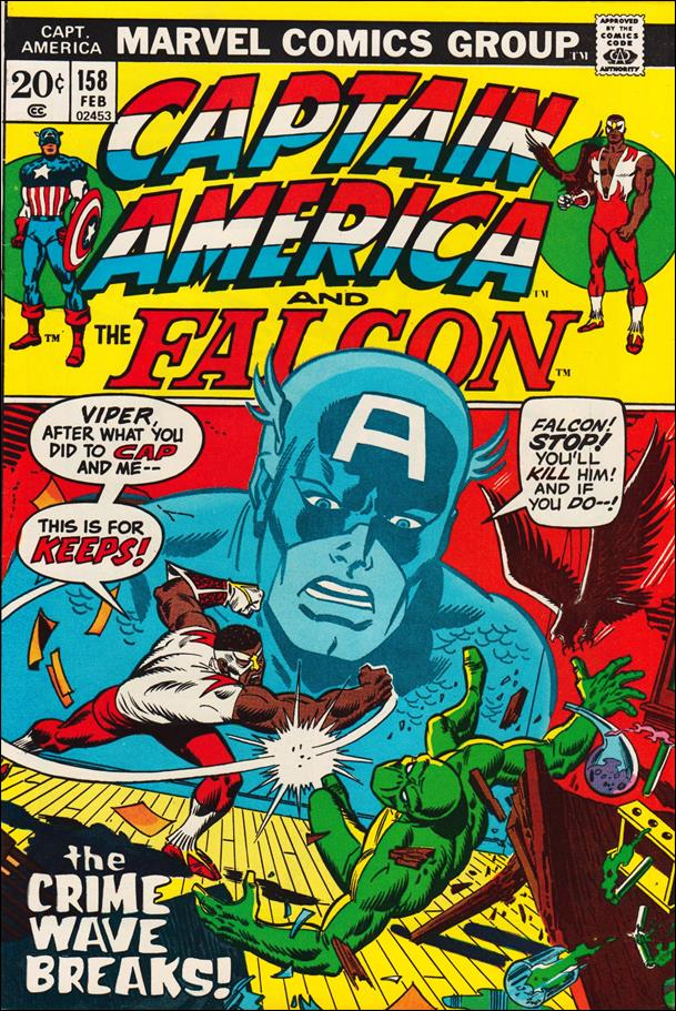 Captain America (1968) 158-A by Marvel
