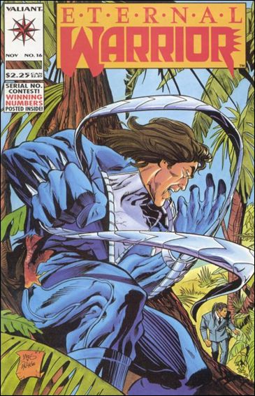 Eternal Warrior (1992) 16-A by Valiant
