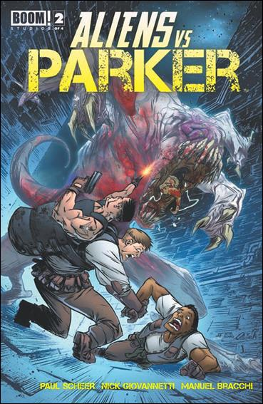 Aliens vs Parker 2-A by Boom! Studios