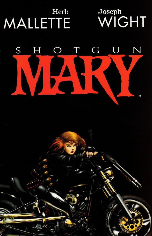 Shotgun Mary (1995) 1-B by Antarctic Press