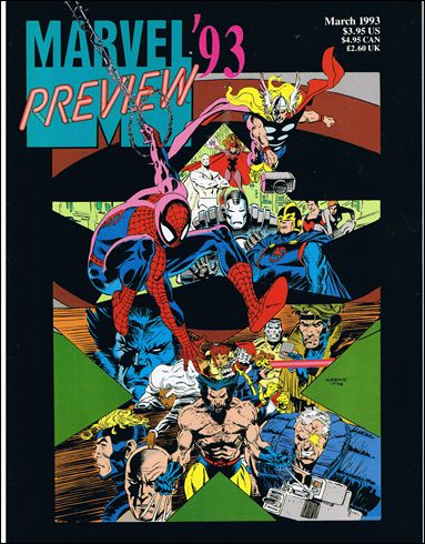 Marvel Preview 1993 1-A by Marvel