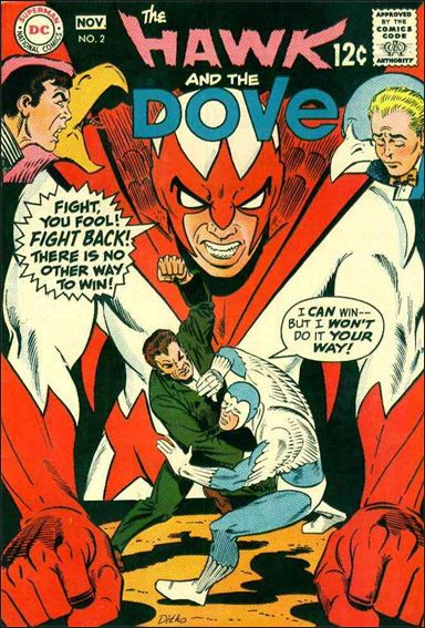 Hawk and the Dove (1968) 2-A by DC