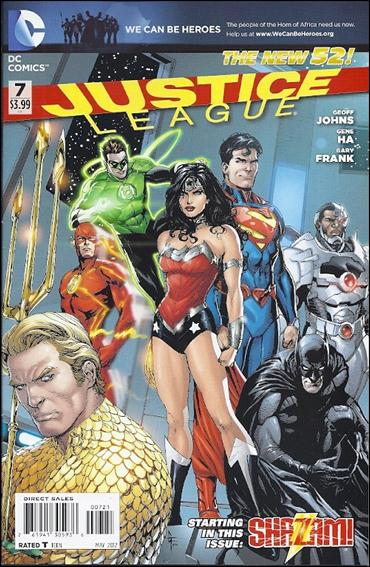 Justice League (2011) 7-D by DC