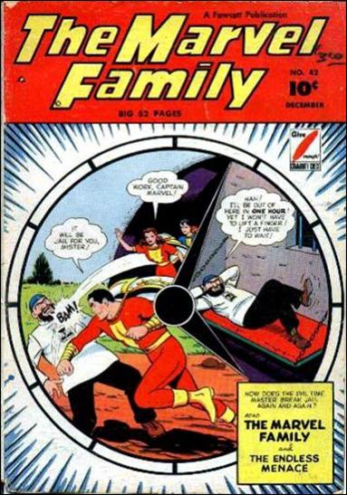 Marvel Family 42-A by Fawcett