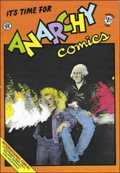 Anarchy Comics 2-A by Last Gasp