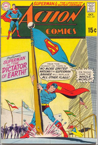 Action Comics (1938) 381-A by DC
