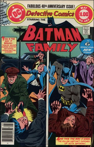 Detective Comics (1937) 483-A by DC
