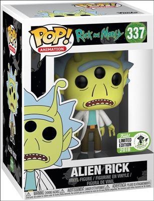 POP! Animation Alien Rick Emerald City Comicon 2018