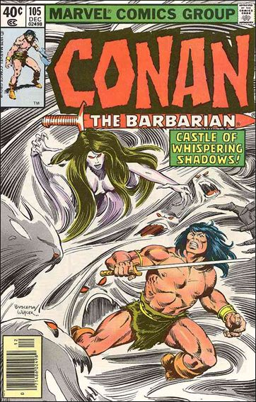 Conan the Barbarian (1970) 105-A by Marvel