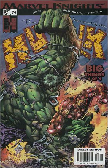Incredible Hulk (2000)  74-A by Marvel