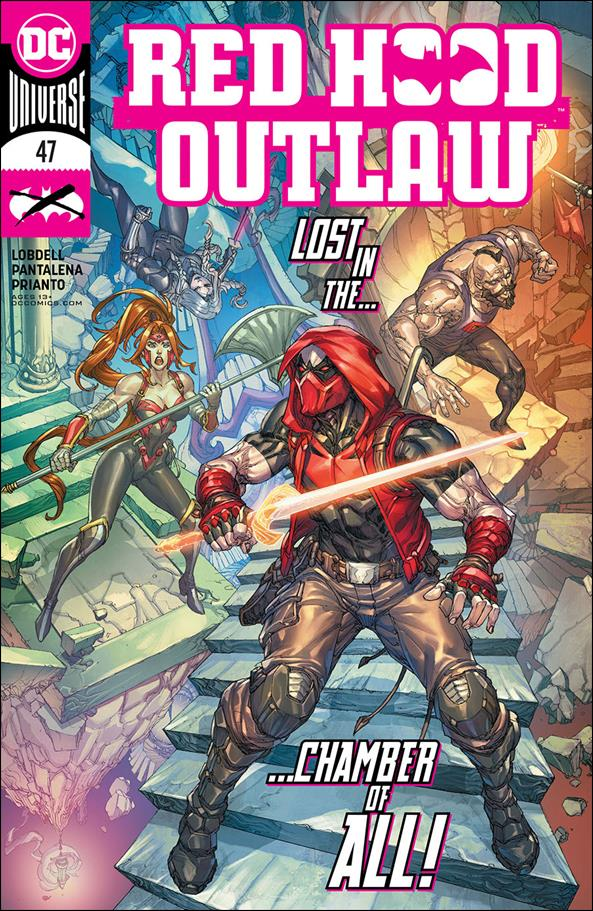 Red Hood: Outlaw 47-A by DC