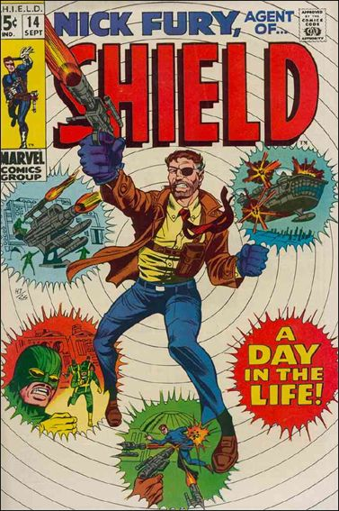 Nick Fury, Agent of S.H.I.E.L.D. (1968) 14-A by Marvel