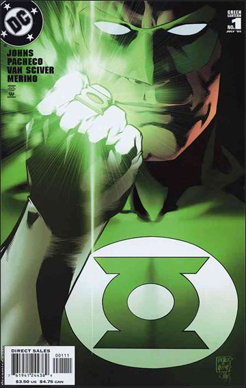 Green Lantern (2005) 1-A by DC