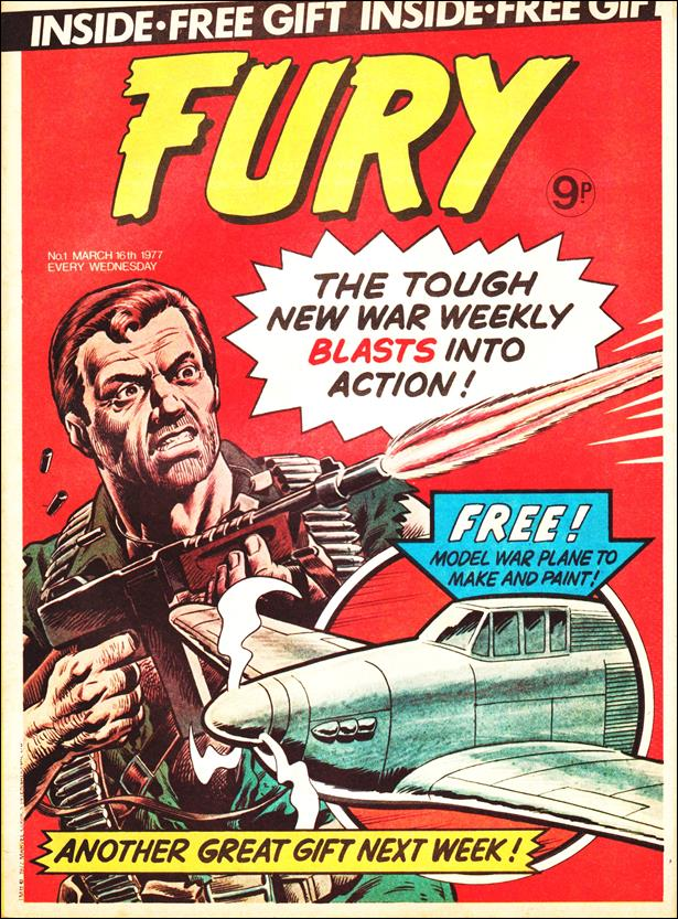 Fury (UK) 1-A by Marvel UK
