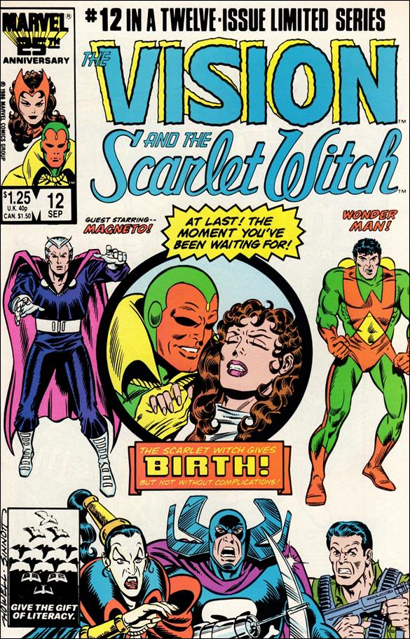 Vision and the Scarlet Witch (1985) 12-A by Marvel