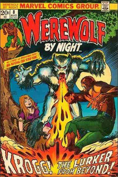 Werewolf by Night (1972) 8-A by Marvel