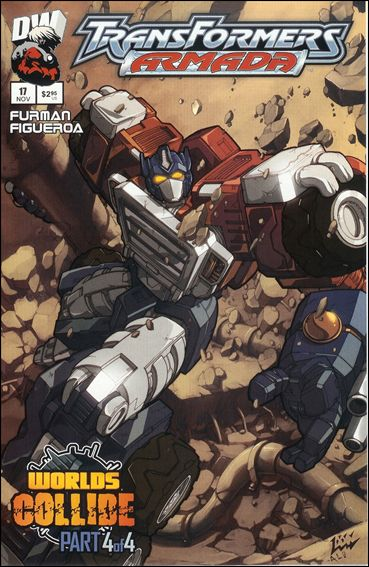 Transformers: Armada (2002) 17-A by Dreamwave