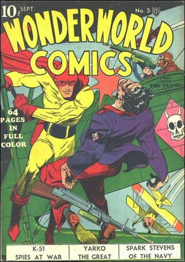 Wonderworld Comics 5-A by Fox