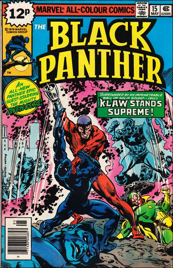 Black Panther (1977) 15-B by Marvel