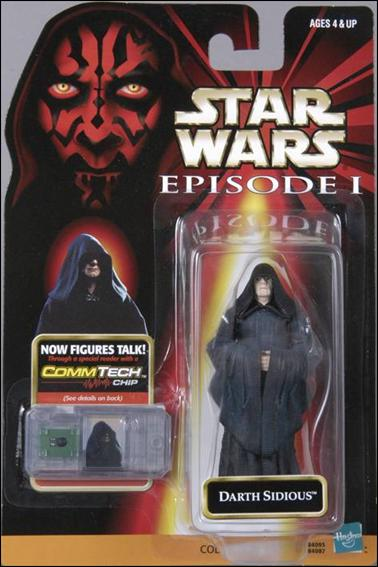 Star Wars: Episode I 3 3/4&quot; Basic Action Figures Darth Sidious (With Logos) by Hasbro
