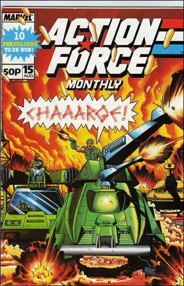 Action Force Monthly (UK) 15-A by Marvel UK