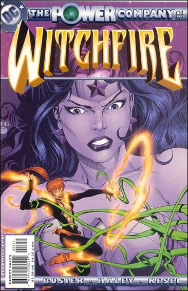 Power Company Witchfire 1-A by DC