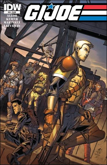 G.I. Joe (2013) 14-A by IDW