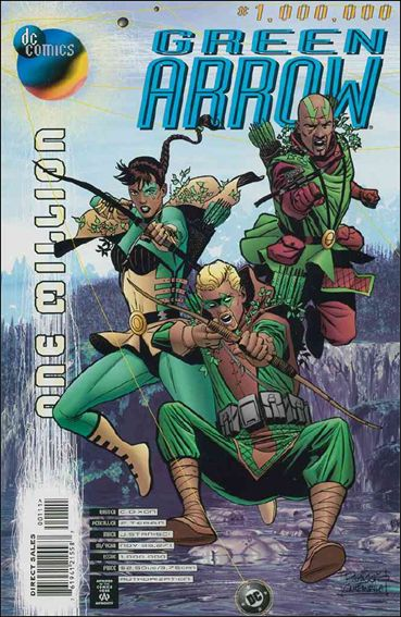 Green Arrow (1988) 1,000,000-A by DC