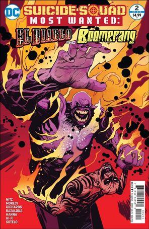 Suicide Squad Most Wanted: El Diablo & Boomerang 2-A