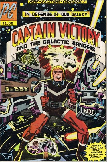 Captain Victory and the Galactic Rangers (1981) 1-A by Pacific