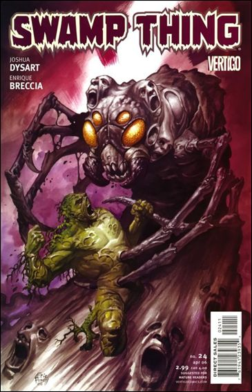 Swamp Thing (2004) 24-A by Vertigo