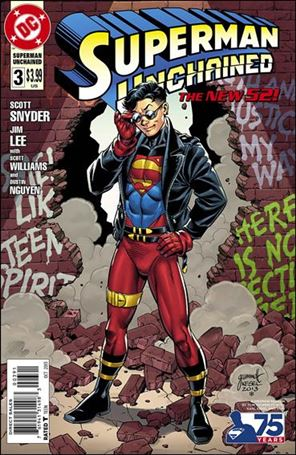 Superman Unchained 3-E