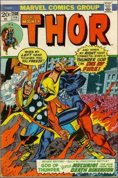 Thor (1966) 208-A by Marvel
